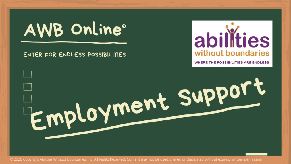 AWB Online Employment Support title