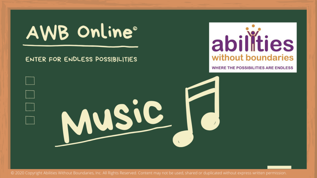 Abilities Without Boundaries Online Music Program Cover