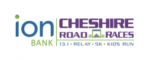 Ion Bank Cheshire Road Races logo, Hot COCO Race sponsor