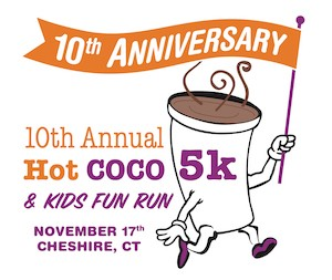 Hot COCO 10th Anniversary Logo, 5k, kid's fun run and new 1-mile walk