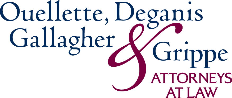 Hot COCO title sponsor logo for Ouellette, Deganis, Gallagher & Grippe, Attorneys at Law
