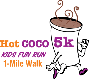 Hot COCO 5K Kids Fun Run and 1-Mile Walk logo for Abilities Without Boundaries