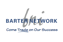 Barter Network logo, Hot COCO sponsor